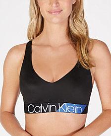 Calvin Klein Women's Colorblock Logo Bralette QF4936