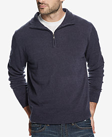 Weatherproof Vintage Men's Soft Touch 1/4-Zip Sweater