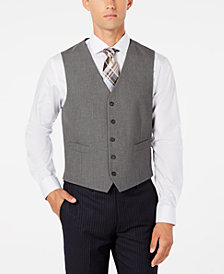 CLOSEOUT! Ryan Seacrest Distinction™ Men's Modern-Fit Stretch Solid Vest, Created for Macy's