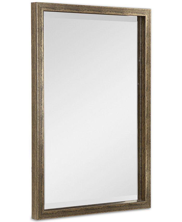Uttermost - Aburay Tarnished Silver Mirror