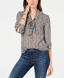 Tommy Hilfiger Tie-Neck Blouse