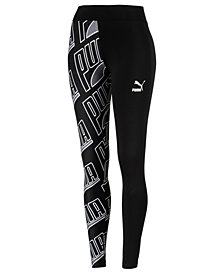 Puma Logo-Print Leggings