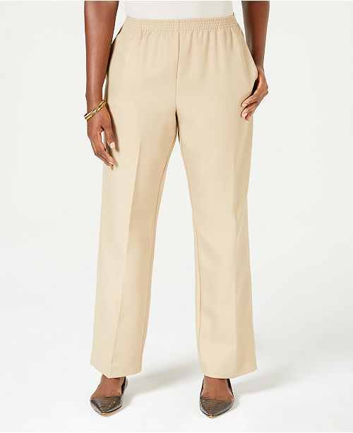 Karen Scott Petite Pull-On Pants, Created for Macy's