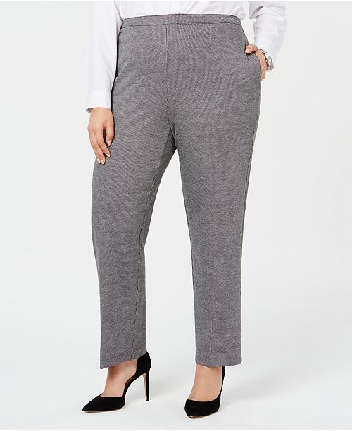 c7b544d3746 ... Alfred Dunner Plus Size Sutton Place Pull-On Pants