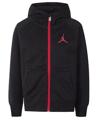 Jordan Little Boys Zip Up Hoodie Sweaters Kids Macys