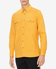 Calvin Klein Men's Marc Flannel Shirt
