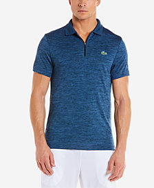 Lacoste Men's Novak Djokovic Flecked Tech Polo