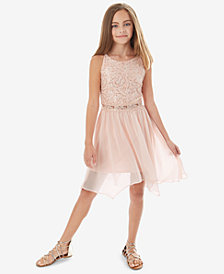 BCX Big Girls Sequin Lace Dress