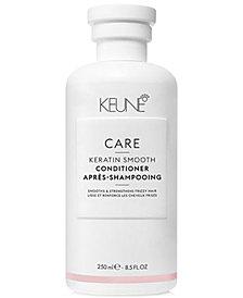 Keune CARE Keratin Smooth Conditioner, 8.5-oz., from PUREBEAUTY Salon & Spa