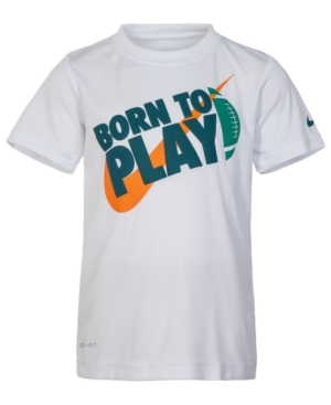 Nike Toddler Boys Drifit Born to Play Graphic TShirt