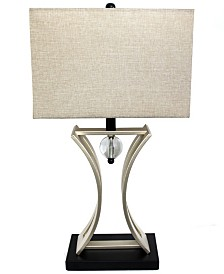 Elegant Designs Chrome Executive Business Table Lamp