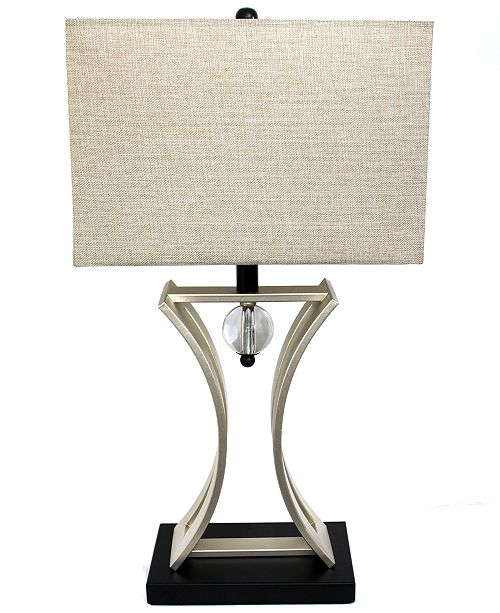 All The Rages Elegant Designs Chrome Executive Business Table Lamp