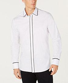 Ryan Seacrest Distinction™ Men's Woven Tuxedo Shirt, Created for Macy's