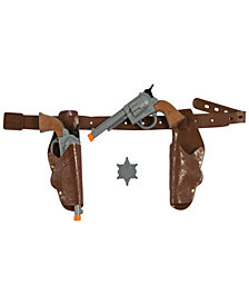 Authentic Western Gunman Belt & Holster Boys Accessory