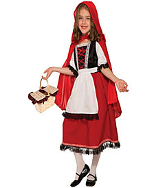 Deluxe Red Riding Hood Girls Costume