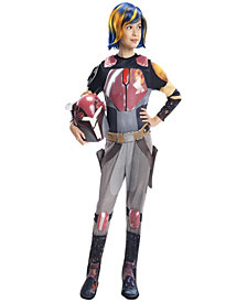 Star Wars Rebels Deluxe Sabine Girls Costume