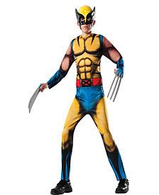 Marvel Deluxe Wolverine Boys Costume