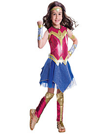Batman v Superman: Dawn of Justice - Deluxe Wonder Woman Girls Costume