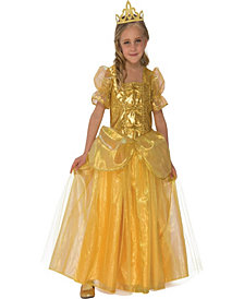 Golden Princess Girls Costume