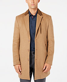 Ryan Seacrest Distinction™ Men's Long Overcoat, Created for Macy's
