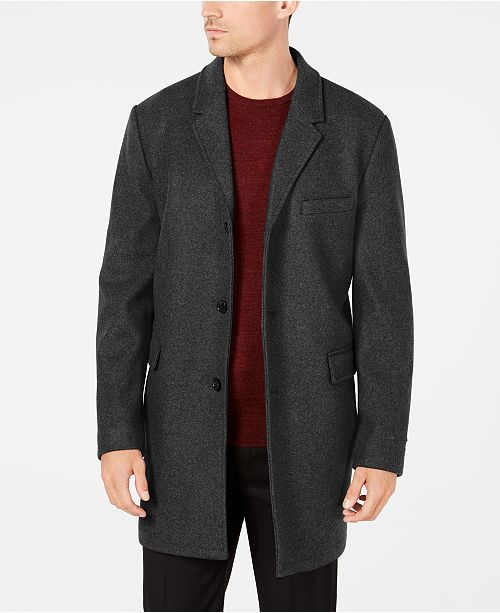 Michael Kors Men'd Ghent Slim-Fit Topcoat