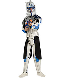 Star Wars Animated Deluxe Clone Trooper Leader Rex Boys Costume