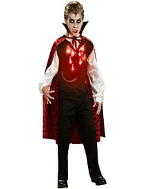 Lite-Up Vampire Boys Costume