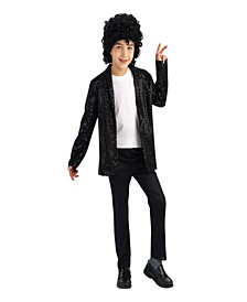 Michael Jackson Deluxe Billie Jean Jacket Boys Costume