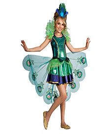 Peacock Girl Costume