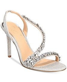 Java Embellished Evening Sandals