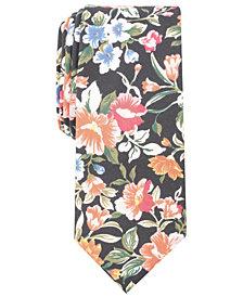 Bar III Men's Lassen Floral Skinny Tie, Created for Macy's