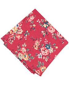 Bar III Men's Clara Floral Pocket Square, Created for Macy's