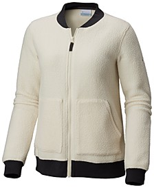Feeling Frosty™ Fleece Knit-Trim Jacket