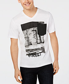 INC Men's Street Graphic T-Shirt, Created for Macy's