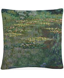 """Monet Le Bassin Des Nympheas 16"""" x 16"""" Decorative Throw Pillow"""