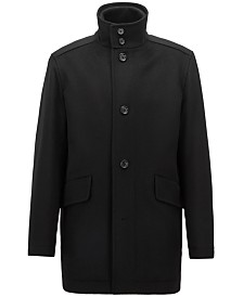 BOSS Men's Relaxed-Fit Car Coat