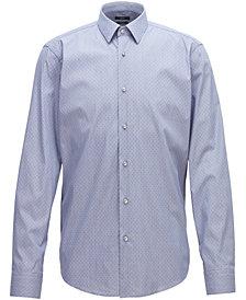 BOSS Men's Regular/Classic-Fit Stretch Shirt