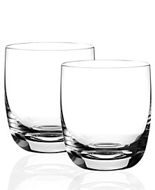 Drinkware, Set of 2 Blended Scotch No 2 Tumblers