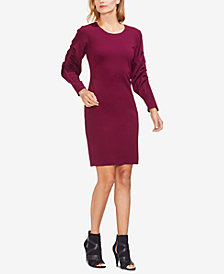 Vince Camuto Bubble-Sleeve Sheath Dress