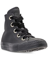 30115cf1377 Converse Women s Chuck Taylor Big Eyelets High Top Casual Sneakers from  Finish Line