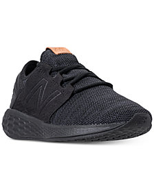 New Balance Women's Fresh Foam Cruz V2 Wide Width Running Sneakers from Finish Line