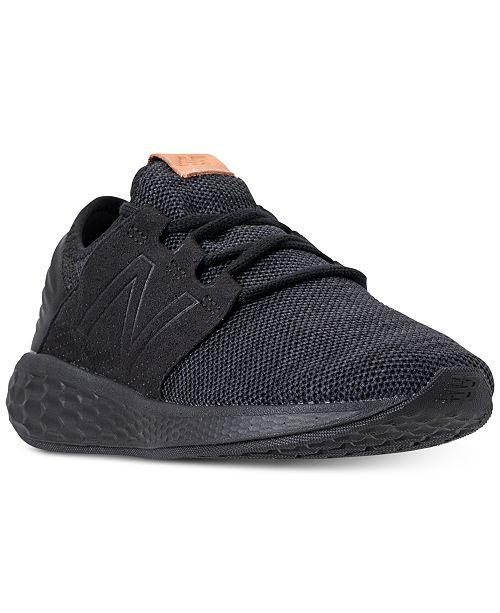 776f7c81ed40 ... New Balance Women s Fresh Foam Cruz V2 Wide Width Running Sneakers from  Finish ...