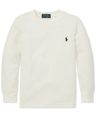 Toddler Boys Long Sleeve T Shirt by Polo Ralph Lauren