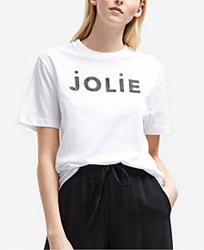 French Connection Cotton Jolie Graphic-Print T-Shirt