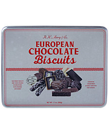 R.H. Macy & Co. European Chocolate Biscuit Tin
