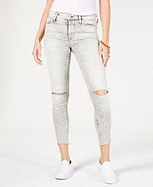Hudson Jeans Ripped Raw-Hem Jeans
