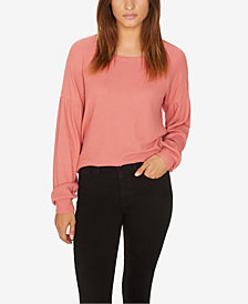 Sanctuary Thermal Bishop-Sleeve Top