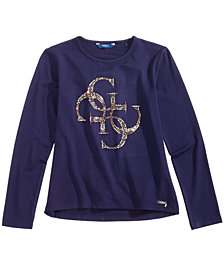 GUESS Big Girls Long-Sleeve T-Shirt