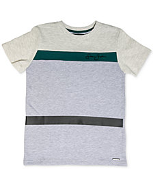 Sean John Big Boys Signature Colorblocked T-Shirt