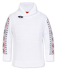 Tommy Hilfiger Big Boys Shawl Sweater
